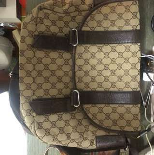 GUCCI classic monogram school bag