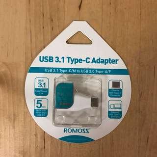 USB Type c adapter 轉換器 轉換頭 轉接頭
