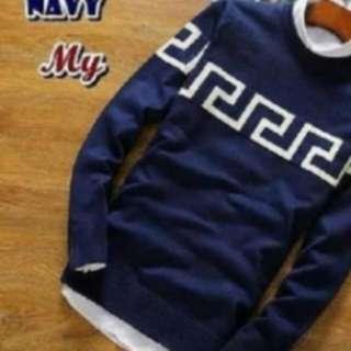 Sweater Rajut Navy