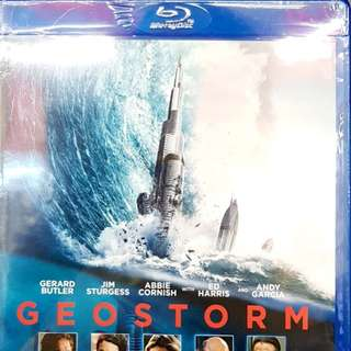 GEOSTORM BLURAY