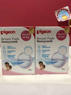 Pigeon Breast Pads 60pcs x 2 Box