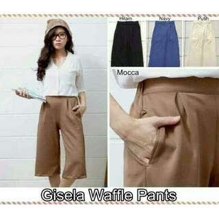 Gisela Waffle Pants