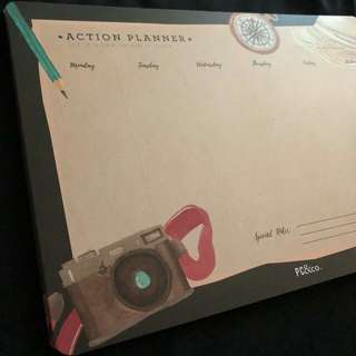 ACTION PLANNER- weekly scheduler