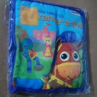 lamaze soft baby book