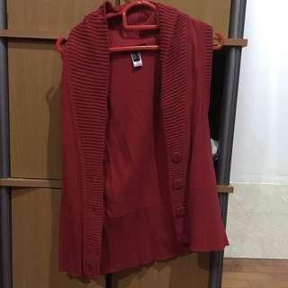 Mango Red Vest