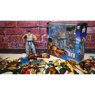 Street Fighter RYU Figure 30週年獨家限量版 隆阿龍 模型 快打旋風 街頭霸王 街霸
