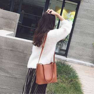 #799 harajuku two way minimalist office handbag