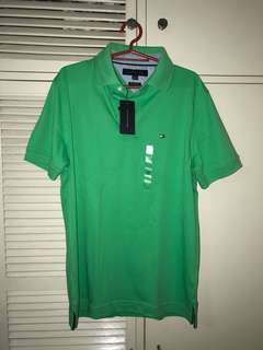 Tommy Hilfiger Polo (Green)