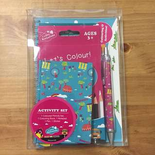 """I Love Singapore"" Stationery Set, gift set, activity set"