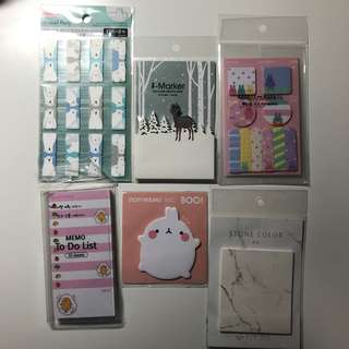 Assorted Memo Pads