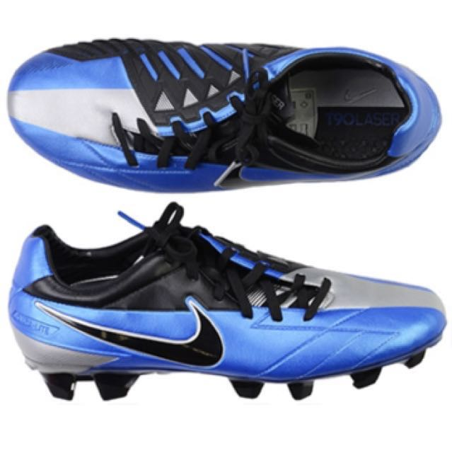 6b37069576be 2011 Nike Total 90 Laser IV Football Boots FG, Sports, Sports & Games  Equipment on Carousell