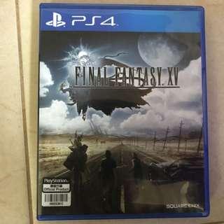 Final Fantasy XV used srldom