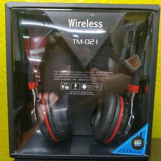 Wireless style head phone