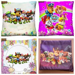 PO Paw Patrol cushion cover 3 sizes available pm For Details brand new