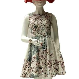 Sakura flower dress