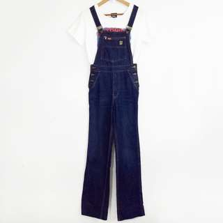 90's Vintage YORK Overall Denim Jumper