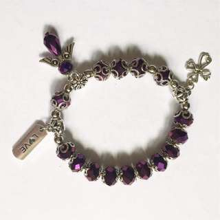 Hand crafted rosary bracelets