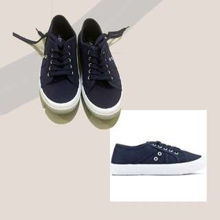 Rubi - Cotton On Navy Blue Sneakers