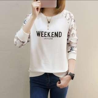 "🐦 INSTOCK- ""Weekend Uniform"" Ulzzang Long Sleeve Shirt"