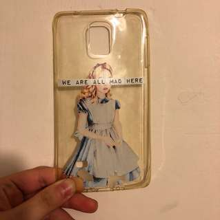 Alice Note 4 phone case