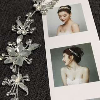 Bnew very pretty hair accessory for prom, wedding etc