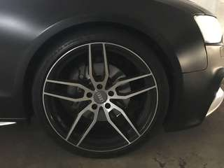 20 inch staggered rims (Audi)