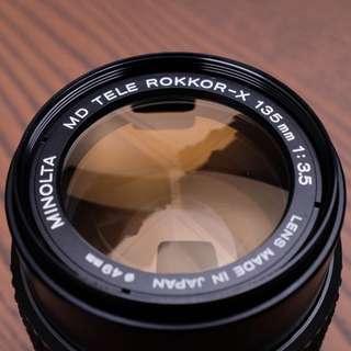 Minolta MD Tele Rokkor-X 135mm f3.5