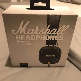 Marshall Headphones Major II Black