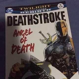 DC Deathstroke #16