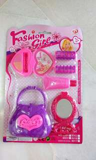 Kids Girl Handbag Vanity Set Toy