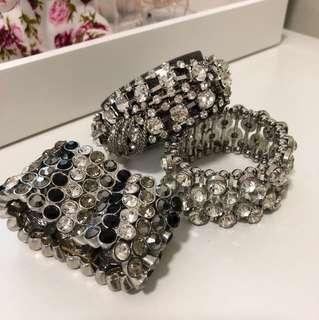 BRAND NEW Diamonte Bracelets