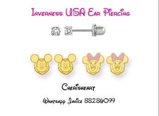 Earring piercing  USA certified