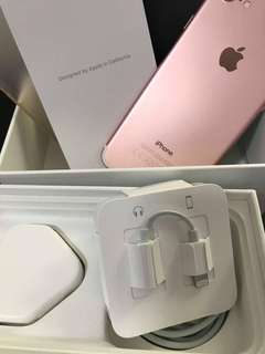 Iphone 7 (Rose Gold / 32GB)