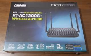 Asus RT-AC1200G+ dual broadband router