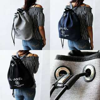 Chanel Deauville Drawstring