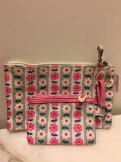 Cath Kidston London coins bag and wallet (100% real)