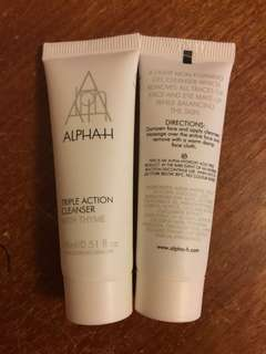 15ml ALPHA-H Triple Action Cleanser