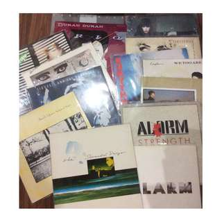 Clearance 80s aha duran tears for fears alarm eurythmics siouxsie and the banshees record vinyl