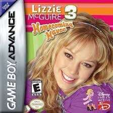 GBA Lizzie Mcguire 3 Homecoming Havoc