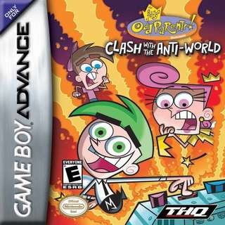GBA The Fairly Odd Parents: Clash with the Anti-World
