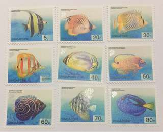 Singapore 2001 Tropical Marine Fishes mnh