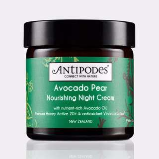 ANTIPODES Avocado Pear Nourishing Night Cream 60 mL 抗衰老系列 牛油果滋養修護晚霜
