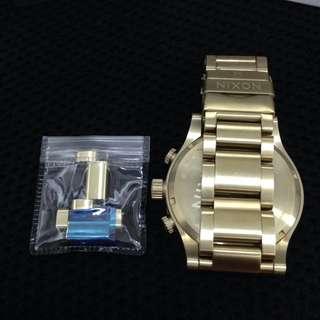 NIXON Super Gold Chrono