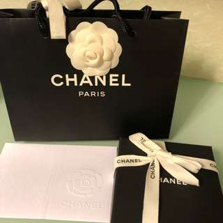 Chanel gift set(necklace, bracelet, ear rings)