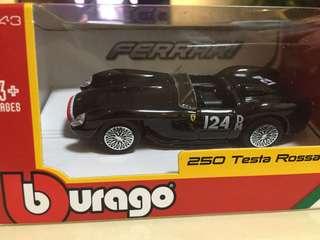 250 testa rossa Ferrari miniature car model