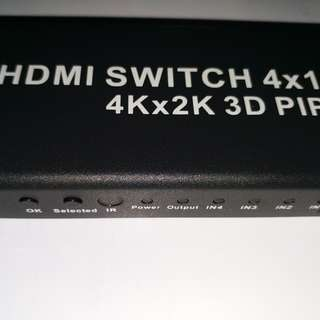 hdmi switch 4 in 1