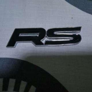 RS Emblem - Honda