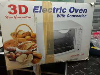 3D Electric Oven