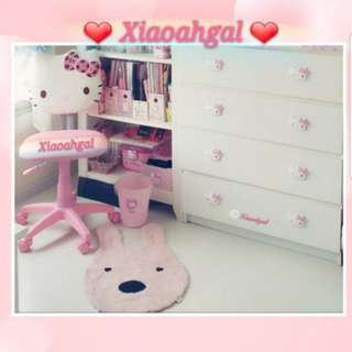 **RESERVE** 🔴50%➡️FOLLOWER ONLY!🔴**Those always backout & follow but unfollow, discount not applicable**🌟BRAND NEW🌟◆NORMAL CHAIR TALL & 42CM DIAMETER SEAT AREA◆ AUTHENTIC JAPAN SANRIO ORIGINAL CHAIR!💋Clean Hse No pet No smoker💋
