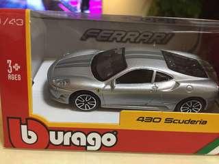 430 scuderia Ferrari miniature car model